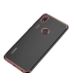 Stöttåligt Silikonskal (Floveme) - Huawei Y6s Guld