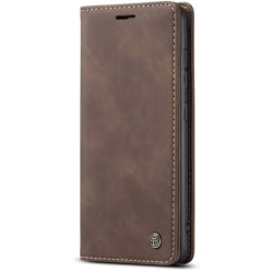Elegant Mobilplånbok för Samsung Galaxy A10 Brun