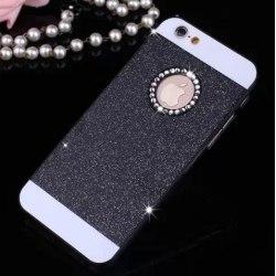 """Glitterskal för iPhone 6 (4.7"""") Svart"""