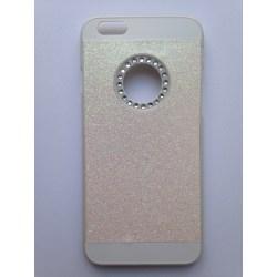 """Glitterskal för iPhone 6 (4.7"""") Vit"""