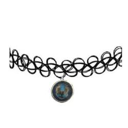 Choker Ravenclaw Tattoo Harry Potter Hogwarts Hallows Elevhem Blue