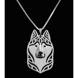 Halsband Siberian Husky Hund Djurälskare Dog Hundras Silver