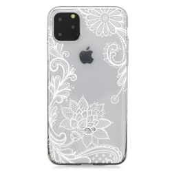 iPhone 11 PRO MAX Spets Vit Spets Mandala Lace Henna Vit