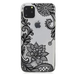 iPhone 11 PRO Spets Svart Spets Mandala Lace Drömfångare Henna Svart