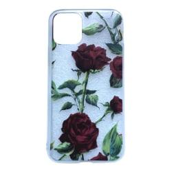 iPhone 11 Ros Blomma Vinröd Växt Blad Leaf  Röd