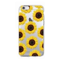 Iphone 5/5s/SE - Solros Sunflower Henna Blommor Gul