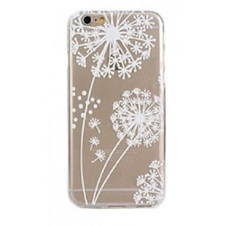 iPhone 6/6s  - Maskros Blomma - Henna - Vitt Vit