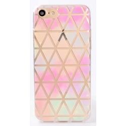 iPhone 7 PLUS Gradient Triangel Geometriskt mönster multifärg