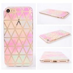iPhone 8 PLUS Gradient Triangel Multi Regnbåge