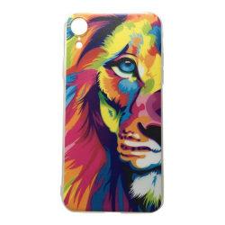 iPhone XR Lejon Lion Kattdjur Färgglad multifärg
