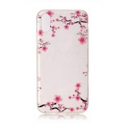 iPhone XS MAX Körsbärsblommor Cherry Blossom Rosa Blomma Rosa