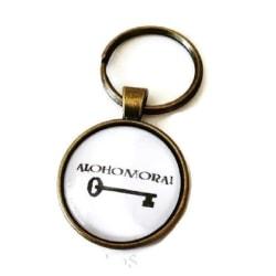 Nyckelring Alohomora! - Harry Potter - Unlocking Charm Vit