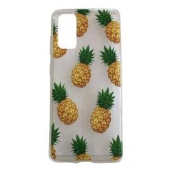Samsung Galaxy S20 Ananas Frukt Pineapple Fruit Henna Pattern Gul