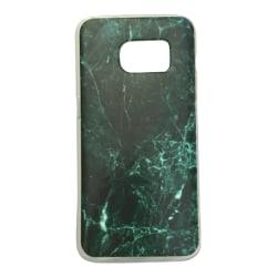 Samsung Galaxy S6 - Marmor Marble Mörkgrön Grön