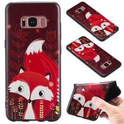 Samsung Galaxy S8 PLUS Räv i höstfärger Natur Djur Röd
