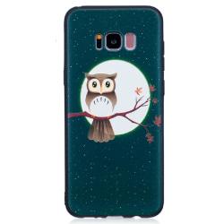 Samsung Galaxy S8 Uggla och måne Owl Moon