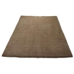 Handknuten Persisk matta Gabbeh Shiraz Ull Beige 175x236cm Brun