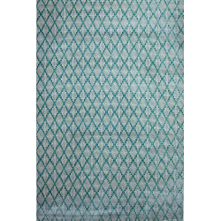 Pierre Cardin Matta Diamond 2053B Creme/Turkos Blue 80x300