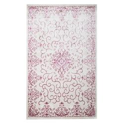 Pierre Cardin Matta Diamond 3753A Creme/Rosa White 80x150