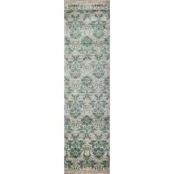 Pierre Cardin Matta Diamond 2053B Creme/Grön Green 80x300