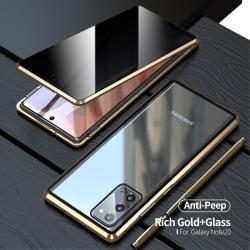 2-i-1 Skal + Skärmskydd för Samsung Galaxy Note 20 - Guld