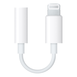 Apple Lightning till 3,5 mm-adapter för Hörlurar / Headset