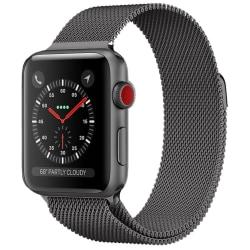 Armband för Apple Watch 5-4 44 mm & 3-2-1 42mm - Grå