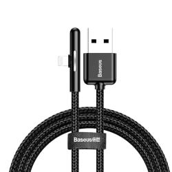 Baseus Lightning Kabel för Mobilspel - iPhone, 2m - Svart