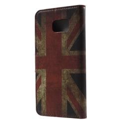 Brittiska flaggan - Plånboksfodral till Galaxy Note 5