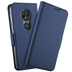 Business Fodral Motorola G7 Play (EU) Mörkblå
