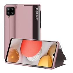 Flip Cover för Samsung Galaxy A42 - Roséguld