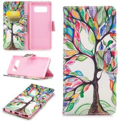 Fodral till Samsung Galaxy Note 8 - Färgglatt träd