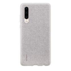 Huawei PU Cover for Huawei P30 - Grå