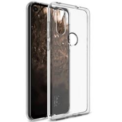 IMAK Skal för Motorola One Vision - Transparent