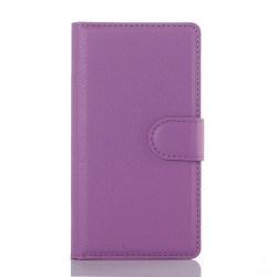 Klassiskt plånboksfodral till Xperia Z5 Compact, Lila
