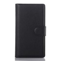 Klassiskt plånboksfodral till Xperia Z5 Compact, Svart