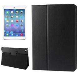 Litchi Läderfodral för iPad Air - Svart