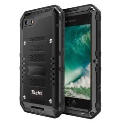 Powerful Extra tåligt Skal för iPhone 7/8 - Svart