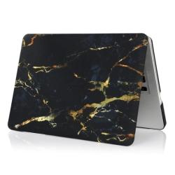 "MacBook Air 13"" Skin Marmor - Svart/Guld"