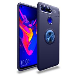 Magnetiskt Skal med Ring till Huawei View 20 - Blå