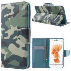 Militär, kamouflage - Plånboksfodral till iPhone 6/6S