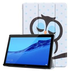 Napping Owl Tri-Fold PU Fodral till Huawei MediaPad T5 10