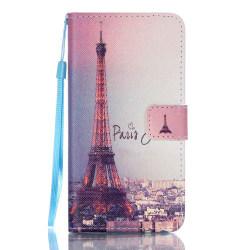 Plånboksfodral för Galaxy J5 (2016) - Paris mot kväll