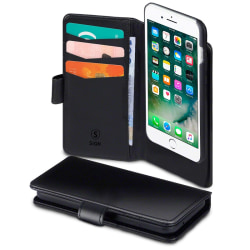 SiGN Plånboksfodral 2-in-1 för iPhone 6/6S/7/8 Plus
