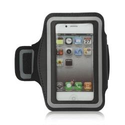 Sportarmband till iPhone 4/4S/5/5S/5C, Svart