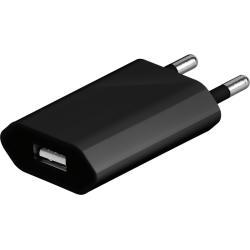Strömadapter till USB-Laddare - Svart