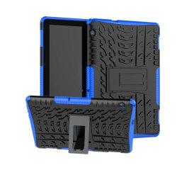 TPU Hybrid Fodral för Huawei MediaPad T5 10 - Blå