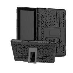 TPU Hybrid Fodral för Huawei MediaPad T5 10 - Svart