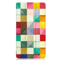 Tri-fold Fodral för Lenovo Tab 7 Essential - Färgpalett