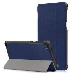 Tri-fold Fodral för Lenovo Tab 7 Essential - Mörkblå